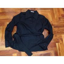 Camisa Portsaid Con Spandex Cruzada Tipo Kimono