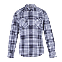 Camisa Wrangler New Western M/l Hombre Gris (05412115210201)