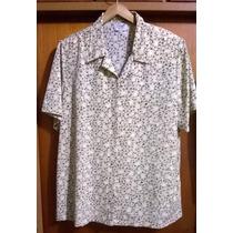 Camisa / Blusa Dama Crepe De Seda Con Hombreras