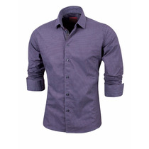 Valkymia Camisa Entallada Heli Algodón Premium