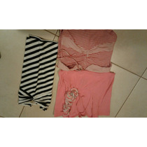 Lote Remeras De Mujer Portsaid, Lupe,peuque Impecables