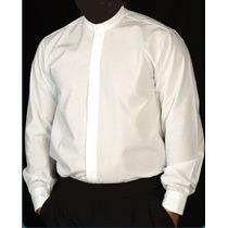 Camisa Cuello Mao Lisas O Bordadas Con Logo Por Mayor