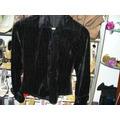 Camisa Clasica Negra Tela Importada Tipo Chifon De Invierno