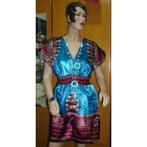 Camisola Tipo Kimono De Satén -indú -mariann Moon