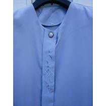 Camisa Seda Muy Delicada T G Sisa 120 Cm. Excelente! M P*