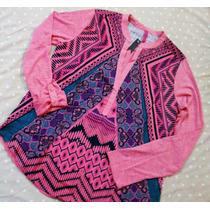 Blusa Camisola Importada Seda Estampa Comb Lisa Oferta!!!