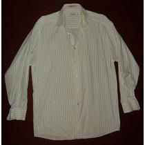 Camisa Rayas Formal Calvin Klein 100% Original Talle 32 M
