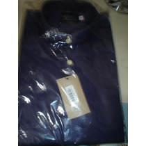 Camisas Hombre Poliester Nueva Talle 16 Traje M/larg Unica