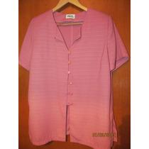 Conjunto Camisa Y Pantalon Rosa Mujer 200 C/u Remato Ya !!