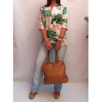 Blusa Camisola Importada Usa Diseño Tropical Verano 2016!