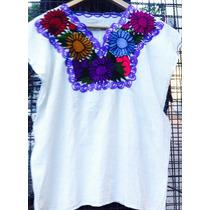 Camisola Mexicana, Blusa Bordada