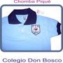 Chombas De Colegio Don Bosco Mejor Precio Uniformes Nuevo