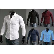 Camisas Entalladas De Importacion Todos Los Talles !!!