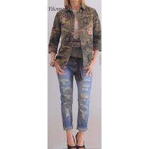 Camisa Militar,camuflada,escocesa,jeans,nevadas Las + Lindas