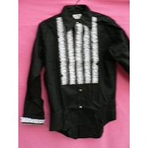 Blusa Camisa Nueva C Puntillas Muy Fina T. L Fortu13
