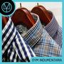 Camisa A Cuadros Hombre Camisa Escocesa Surtido De Diseños!
