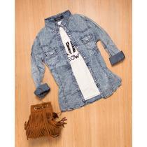 Camisas De Jean Mujer
