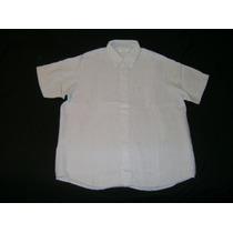 Camisa Yves Saint Laurent Mangas Cortas Talle 41/42