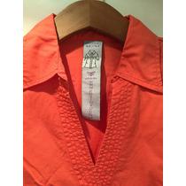 Camisa Entallada Kosiuko De Mujer Color Coral
