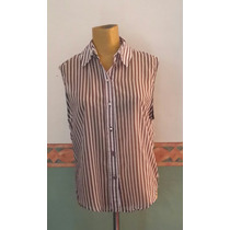Camisa Sin Mangas Rayada Juvenil ,tabatha,t M.medidas