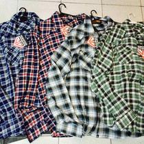 Camisas 38 Special Manga Larga Cuadros 2xl 3xl 4*zona Munro*