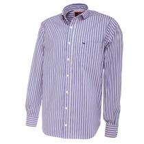 Camisa De Hombre Rayas Finas Pato Pampa