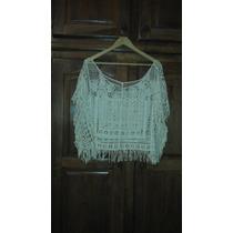 Blusa Crochet De Playa