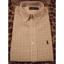 Camisas Ralph Lauren Por 2 Unidades M/ Larga - Imperdibles!!