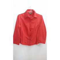 Camisa Elastizadas Talle M Marca Tabatha Con Bordados