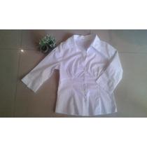 Camisa Elastizada Para Mujer