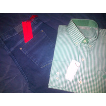 Camisa Christian Dior Cuadrillé + Jeans