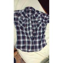 Camisa M/c Levi´s Cuadrille Talle L