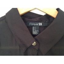 Camisa Tipo Gasa - Forever 21 - Nueva