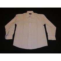 Camisa Monaco De Vestir Mangas Largas Talle 40