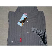Camisa De Bambula Manga Corta - Talle 1 (small)