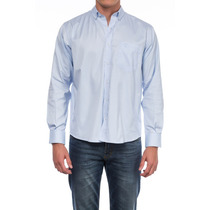 Camisa Oxford Penn Liso M/l Talles Grandes