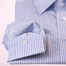 Camisa Entallada Slim Fit Fina Oficina Tela Premiun 100% Alg