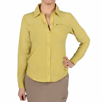 Camisa Protección Solar Uv Respirable Dama Montagne