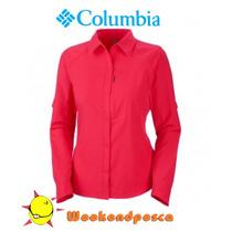 Camisa Columbia Silver Ridge Mujer-weekendpesca-