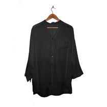Camisa De Gasa Talles Grandes, Gorditas 140 Cm De Busto