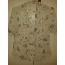 Blusa - Camisa De Gasa Talle: S Para Mujer Nueva