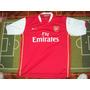 Camiseta Fútbol Arsenal Inglaterra Nike #4 Fabregas 2006 Xl