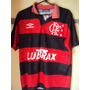 Camiseta Fútbol Flamengo Brasil Umbro Años 90s T M Selección