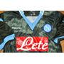 Camiseta Napoli Macron M Camuflanda No Maradona. Si Iguain 9