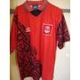 Camiseta Fútbol Aberdeen Escocia Umbro 1994 1996 T. L/3