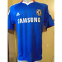 Camiseta Fútbol Chelsea Inglaterra 2010 2011 David Luiz #4 L
