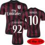 Camiseta Oficial Del Milan De Italia Titular 2016 Original!