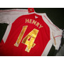 Camiseta Arsenal #14 Thierry Henry