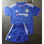 Kit Niño Chelsea Camiseta Short Pantalon 2015 2016 Hazard