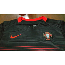 Camiseta Negra - Seleccion Portugal